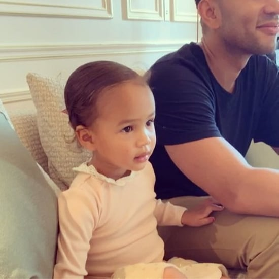 Chrissy Teigen and Luna Candy Court Instagram Video