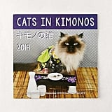 2019 Cats in Kimonos 12-Month Wall Calendar