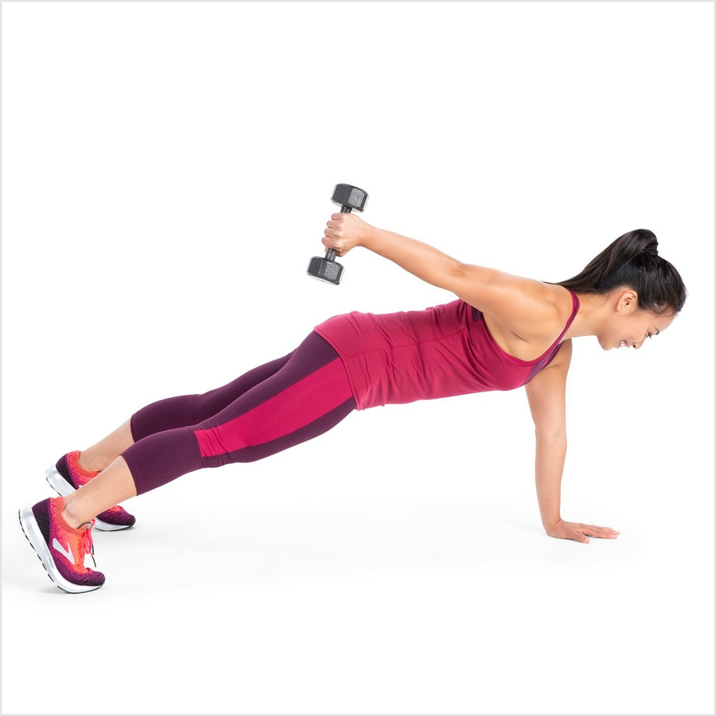 Challenge Your Entire Body With This Weighted Workout