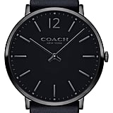 Coach Easton Leather Strap Watch