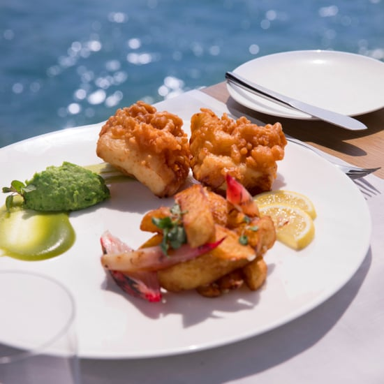 Pierchic Dubai's Fish and Chips Costs AED270