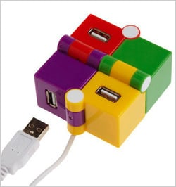 Photos of the USB Cube