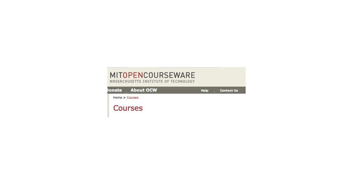 Would you know of any good places to purchase books for use with the MIT OpenCourseWare program?