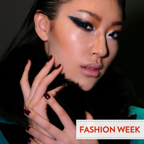 2012 Fall New York Fashion Week Beauty Trend: Almost-Black Nails