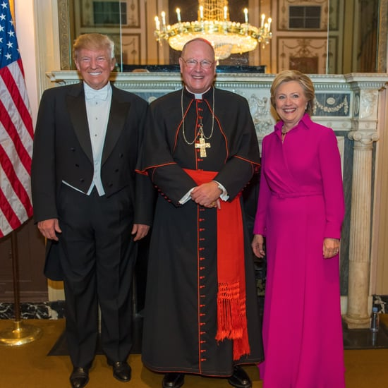 Hillary Clinton's Pink Ralph Lauren Gown October 2016