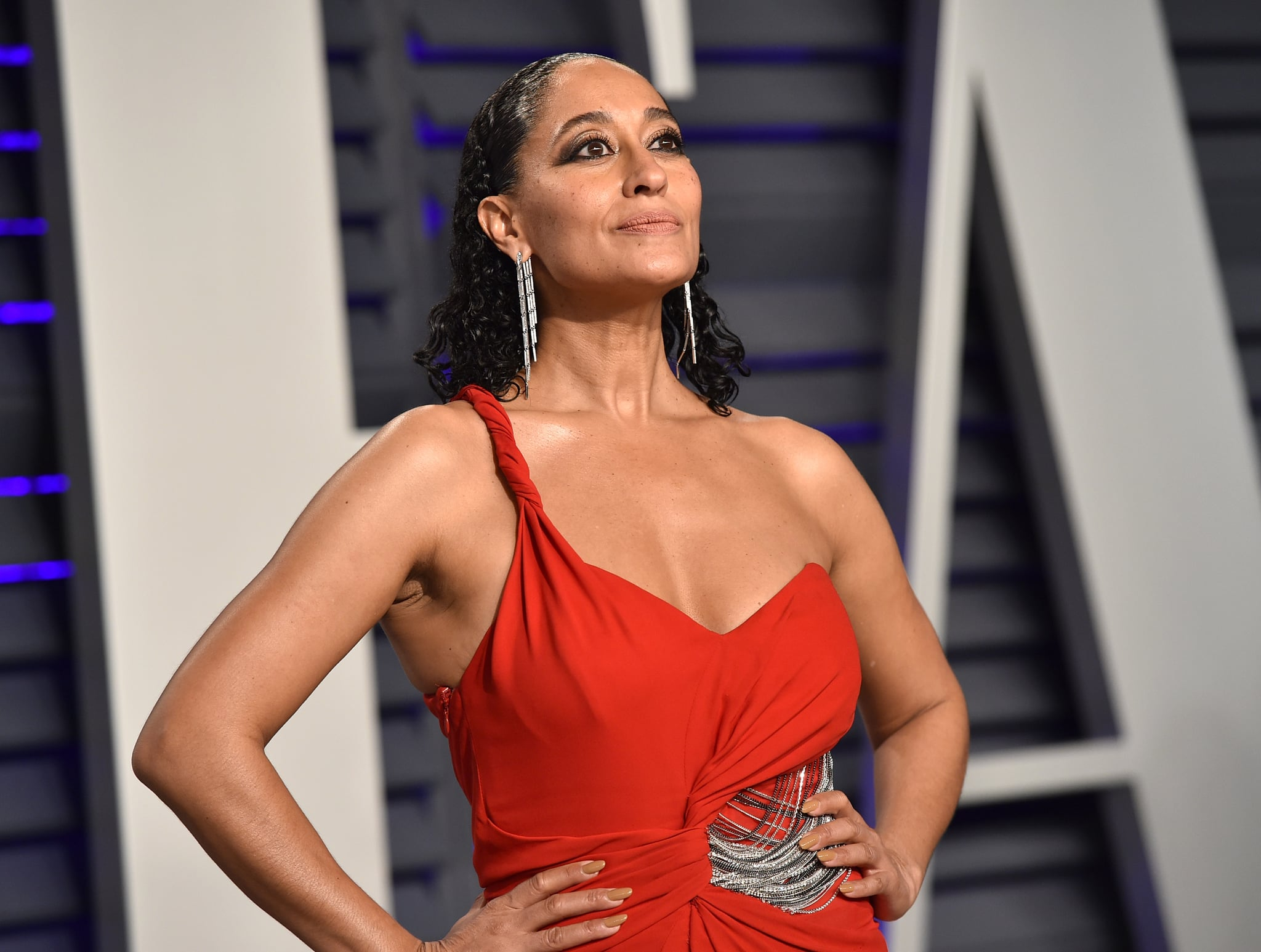 BEVERLY HILLS, CA - FEBRUARY 24:  Tracee Ellis Ross attends the 2019 Vanity Fair Oscar Party hosted by Radhika Jones at Wallis Annenberg Centre for the Performing Arts on February 24, 2019 in Beverly Hills, California.  (Photo by John Shearer/Getty Images)