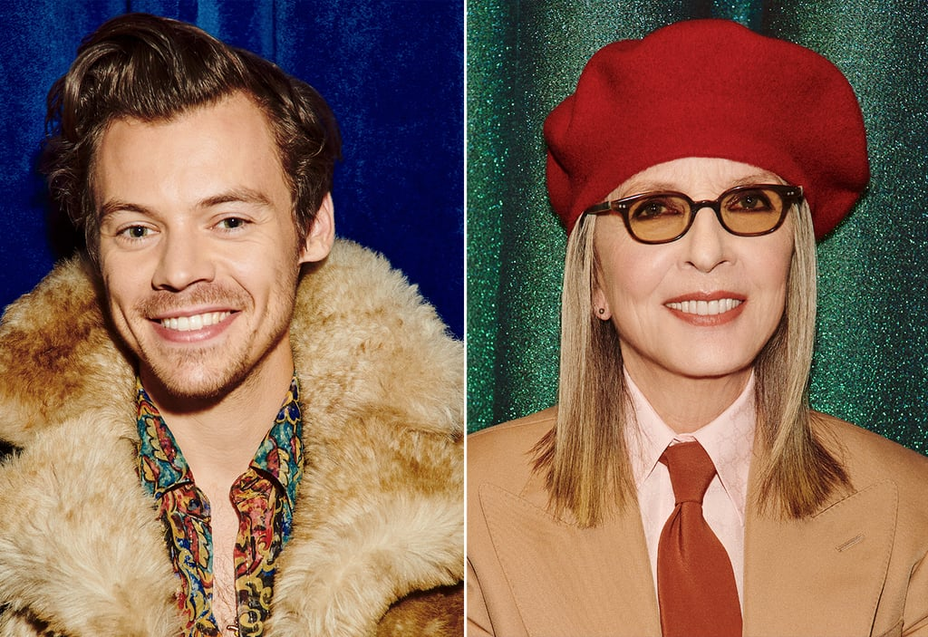 Gucci's Beloved Campaign Stars Harry Styles and Diane Keaton