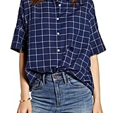 Madewell Courier Double Windowpane Shirt