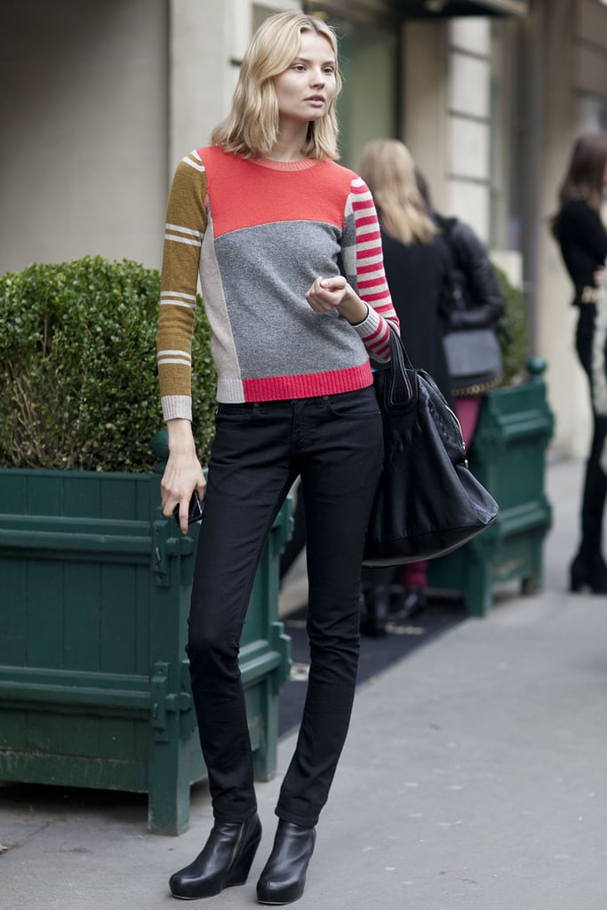 Foolproof stripes get a cooler, colorblocked update.