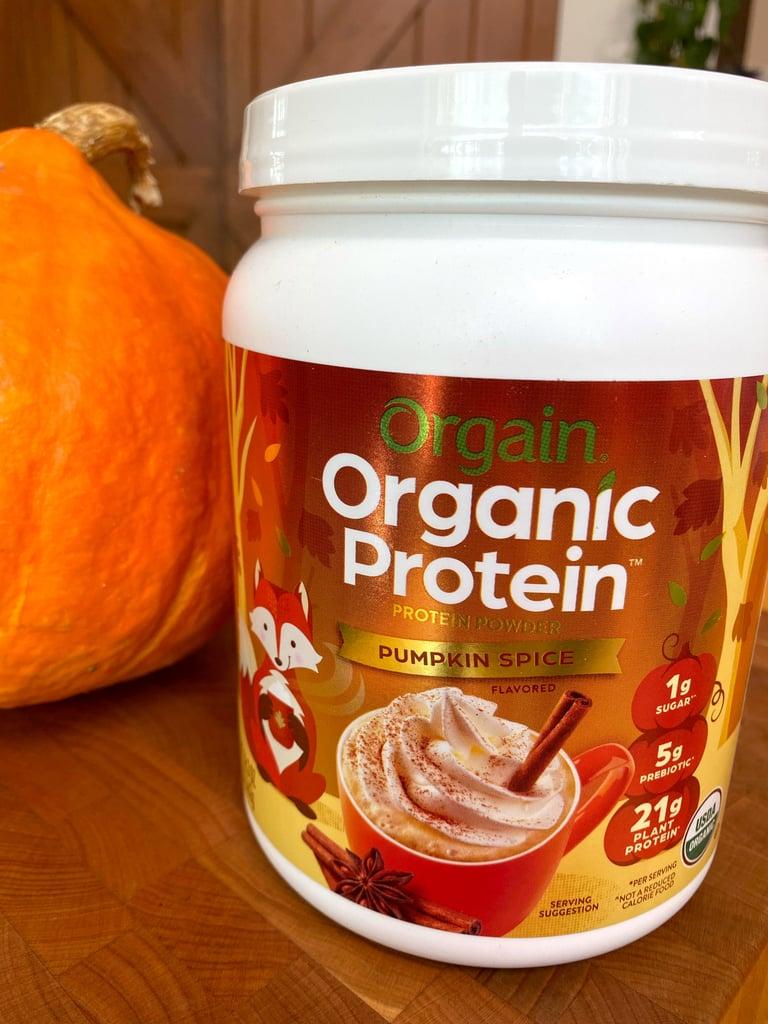 Orgain Pumpkin Spice Protein Powder Review
