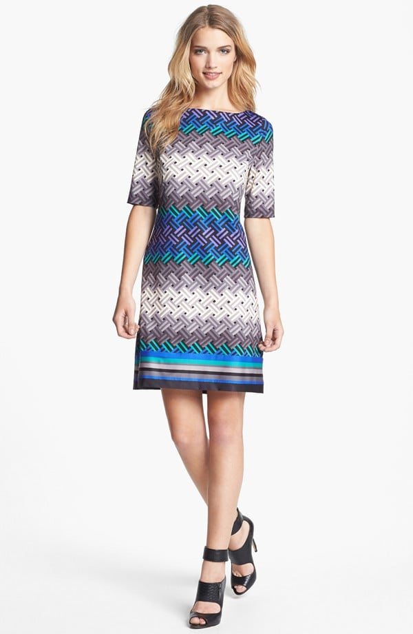 We love a bold print, and this Eliza J shift ($79, originally $118) is no exception.