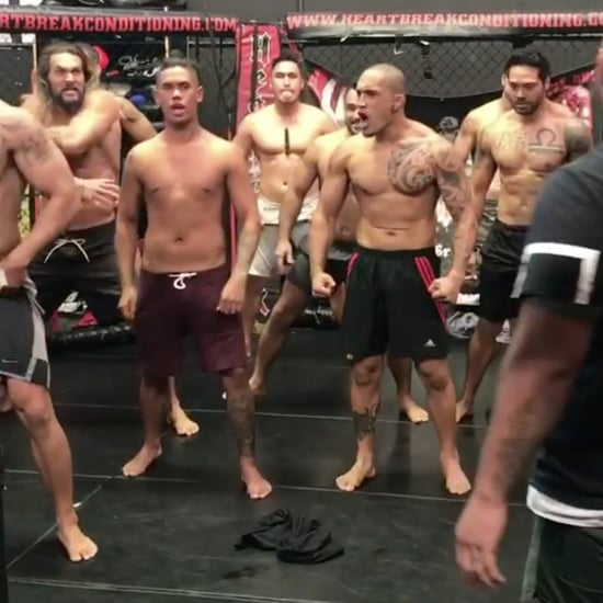 Jason Momoa Doing Haka Instagram Video
