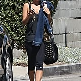 Nicole Richie worked out in LA.