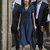 Letizia in Bottega Veneta, March 2018