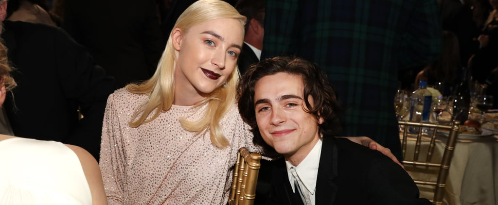 Timothee Chalamet and Saoirse Ronan Pictures