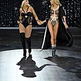 Pictured: Rita Ora and Stella Maxwell