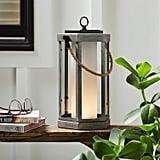 Stone & Beam Rustic Faux-Wood Finish Lantern