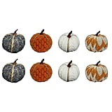 Harvest Mini Fabric Wrapped Pumpkins