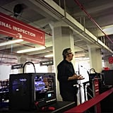 Rachel Sterne Haot, chief digital officer of NYC, welcomes a new factory for 3D printing company MakerBot into the most populous of New York's five boroughs.