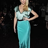 Amber Heard made an appearance at a party for Glamour.