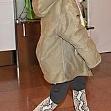 Kim Kardashian's Snakeskin Boots