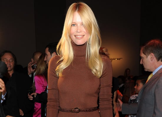 Claudia Schiffer to Launch Fashion Clothing Line for Winter 2011