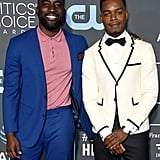 Pictured: Shamier Anderson and Stephan James