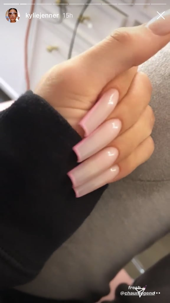 Kylie Jenner\u0027s Subtle Neutral and Neon Manicure