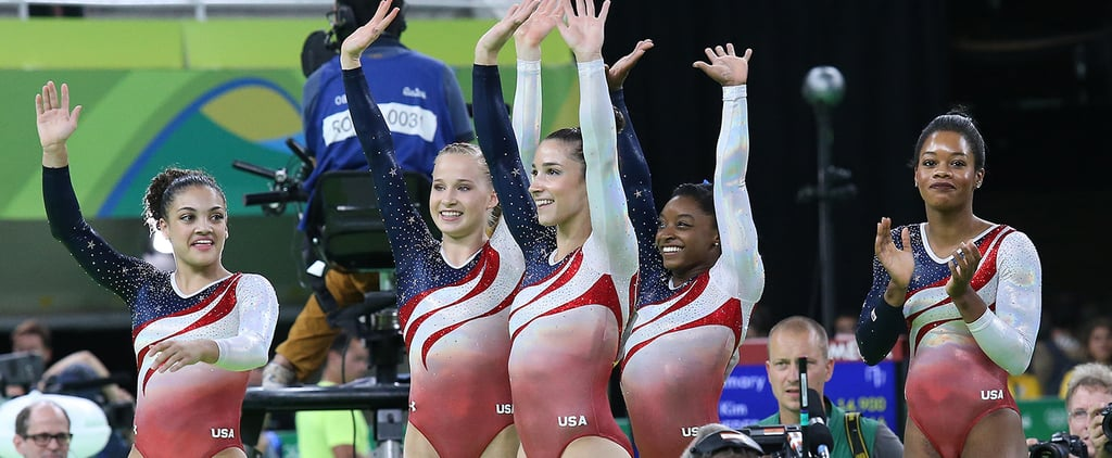 Olympic Gymnasts When They Were Young (Video)