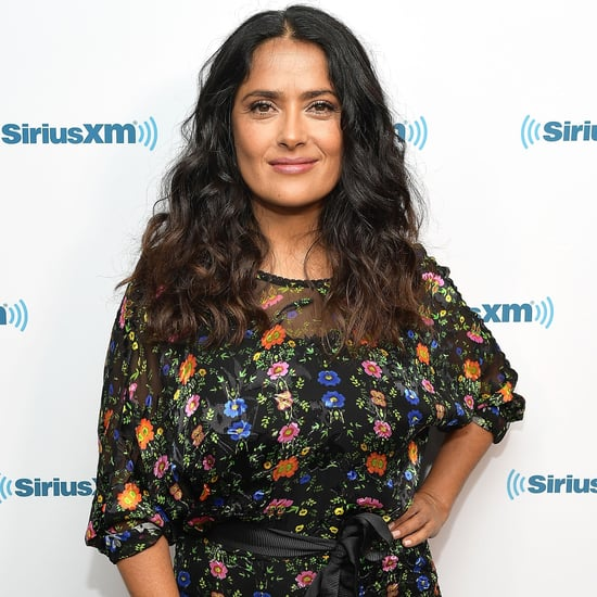 Salma Hayek Posts a Sweet Tribute After Her Dog Dies