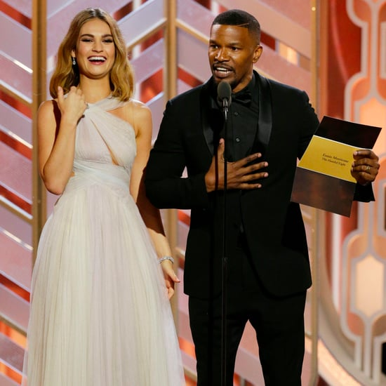 Jamie Foxx Spoofs Steve Harvey at the Golden Globes 2016
