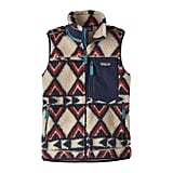 The Perfect Retro Fleece Vest