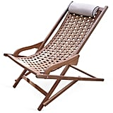 Eucalyptus Outdoor Swing Lounger ($300)