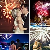 Weddings Make a Bang With Fireworks If you're going to do a holiday wedding on the Fourth of July, it's gotta have fireworks! But the bursting brights make a wedding extra special no matter what time of year it is. See some of our favorite explosive big days featuring fireworks that light up the night with their patriotic and romantic beauty.