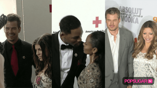 Video of Josh Duhamel and Fergie on the Red Carpet