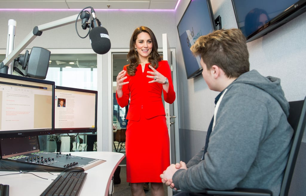 Prince William and Kate Middleton at Global Academy 2017