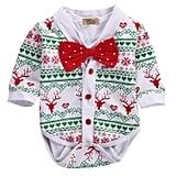 Snowflake Coat+Romper Playsuit
