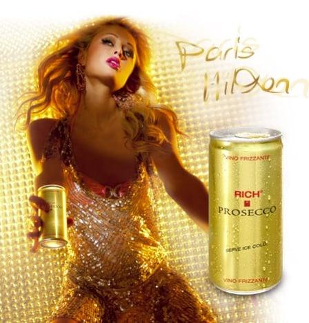 Paris Hilton Releases Rich Prosecco