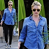 Ali Larter nails the perfect laid-back look.