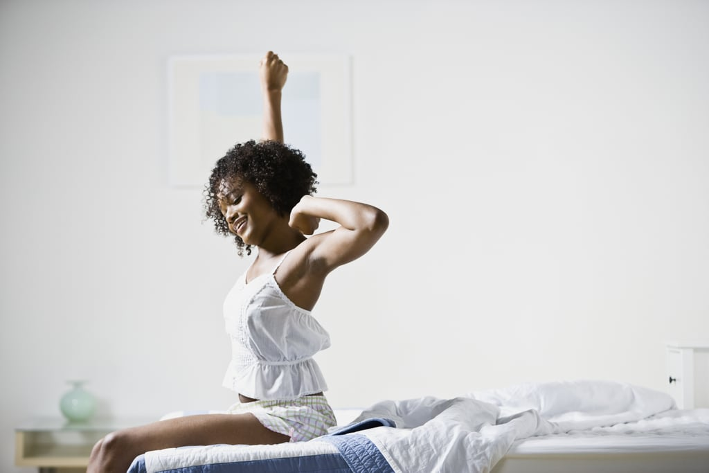 Day 1: Do Energizing Stretches in Bed