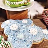 Snowflake Mickey Cookie