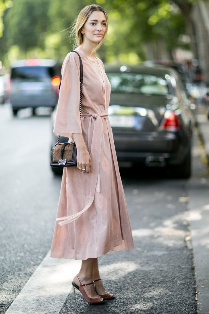 Street Style At Paris Haute Couture Fashion Week 2015 Popsugar Fashion Australia Photo 25