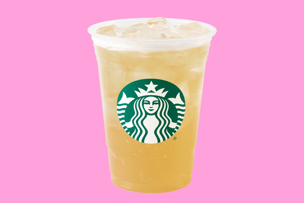 A Starbucks<small>®</small> Iced Green Tea Lemonade