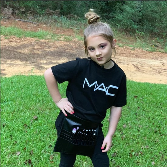 Girl Dresses Up as MAC Makeup Artist