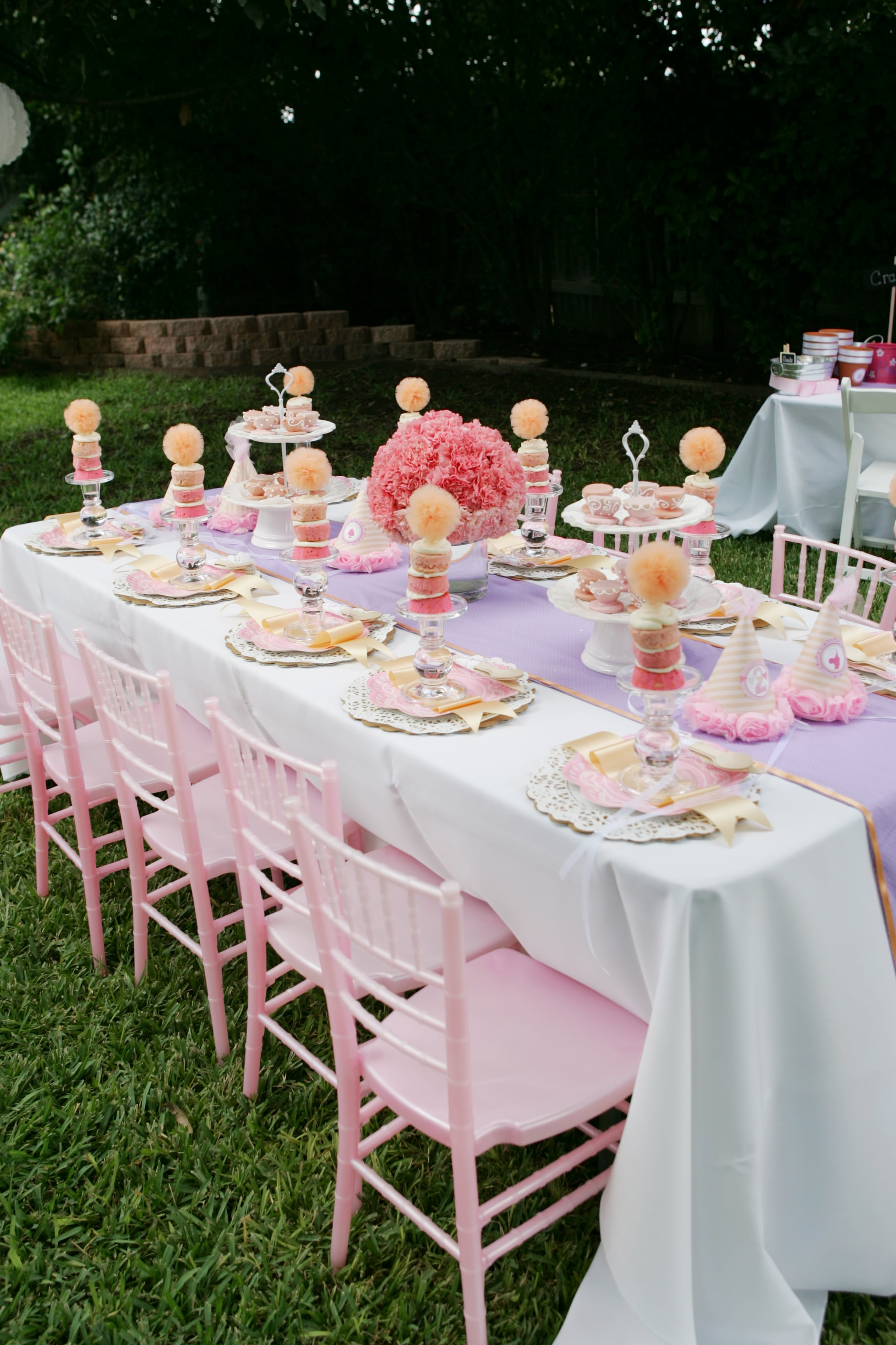 Tea Party Table A Too Too Cute Tutus And Teacups