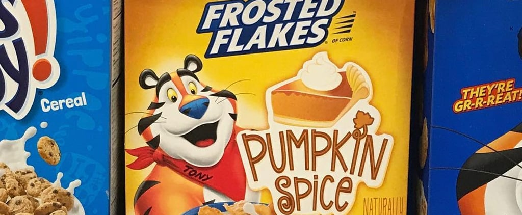 Pumpkin Spice Frosted Flakes 2018