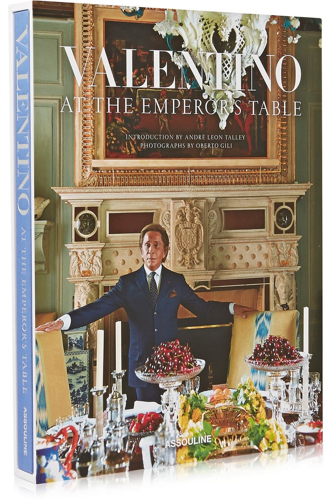 Assouline Valentino: At The Emperor's Table by André Leon Talley hardcover book ($150)