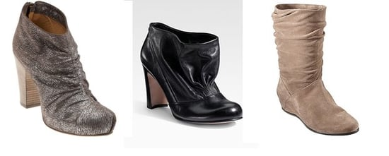 Shopping: Ruched Footwear