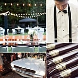 11 Ways For the Groom to Add His Touch to the Big Day  If your guy isn't quite sure how to get involved in the wedding planning, consider this his simple idea cheat sheet. With a range of options related to style, creative projects, and the nitty-gritty to-dos, we've rounded up a variety of fun ways for him to add his touch to the big day. Share these tips with your husband-to-be to help him find ways to contribute — and take a few things off your list!