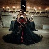 Romantic Halloween Wedding